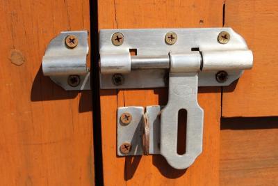gate lock installations