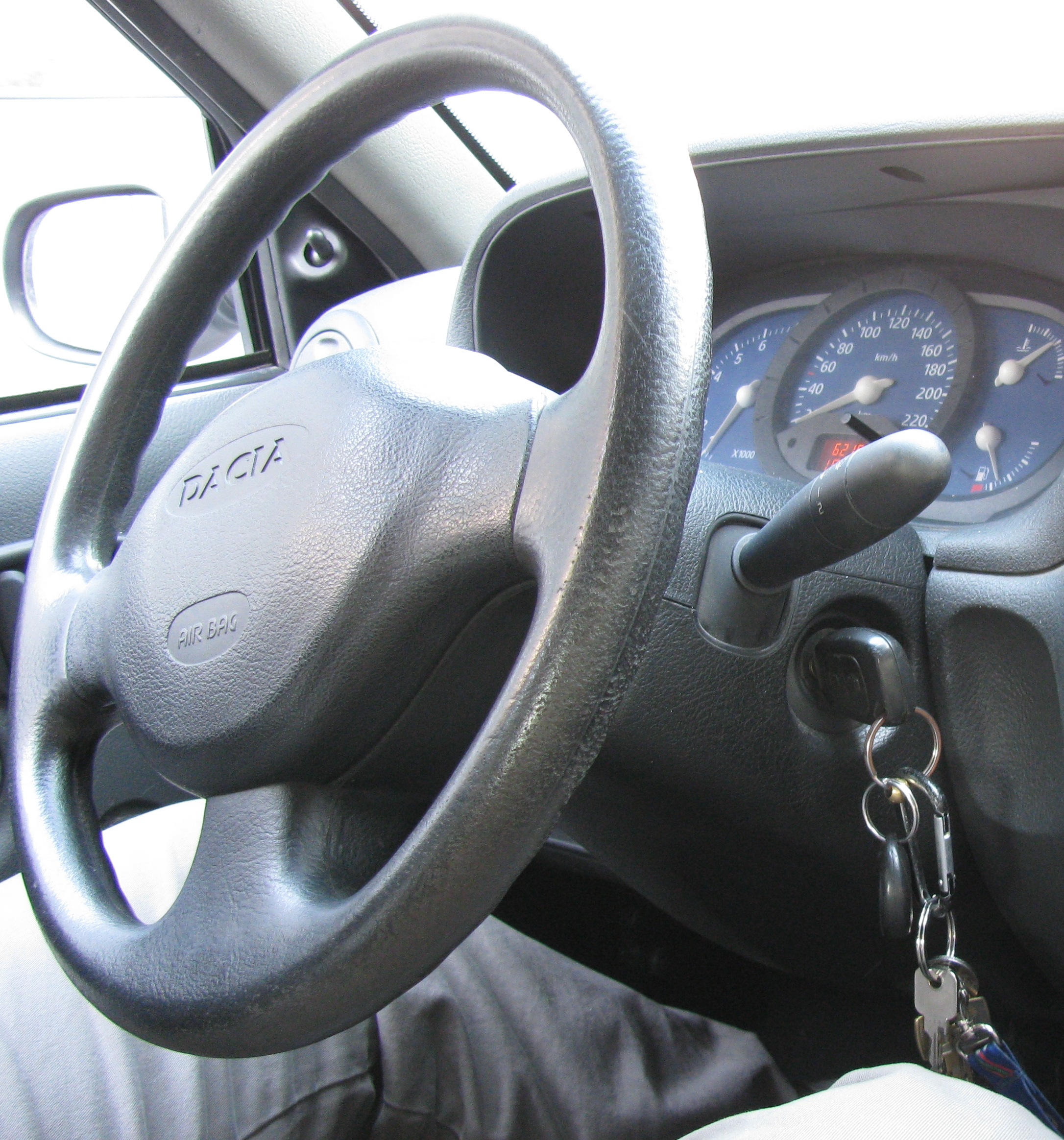 Key in the Ignition