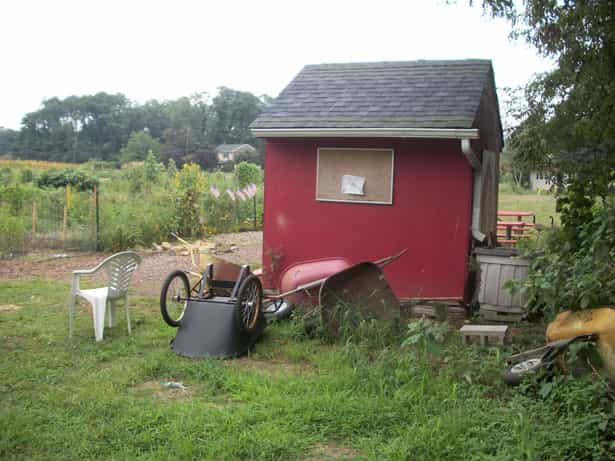 summer shed security