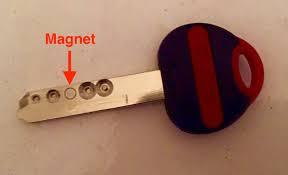 magnetic key